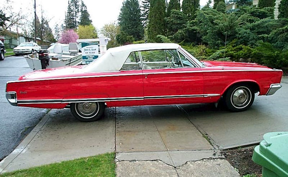 New Nice Cars >> Red 1966 Newport Convertible